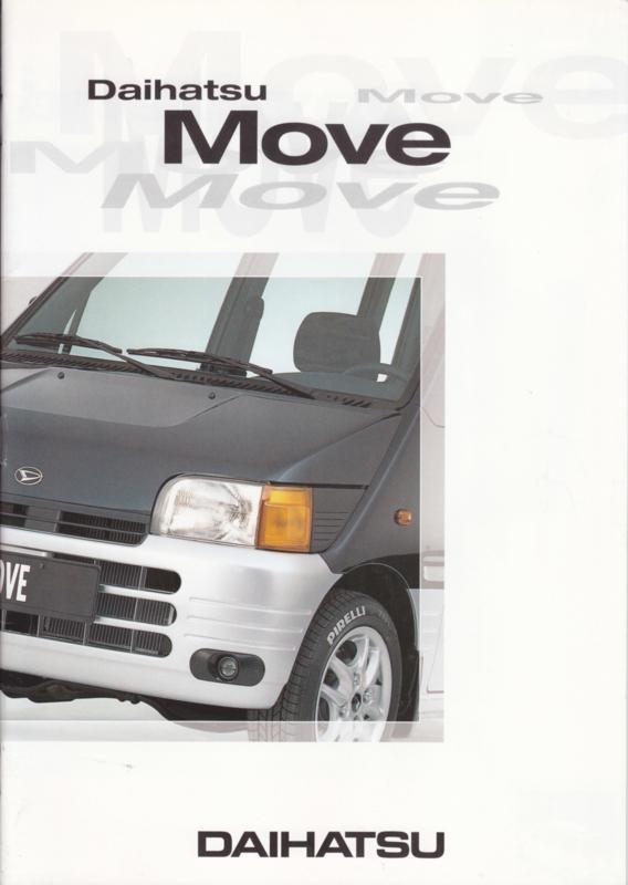 Move brochure, 24 pages, about 1997, A4-size, Dutch language
