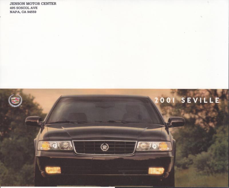 Seville folder, 4 pages, 2001, English language, USA