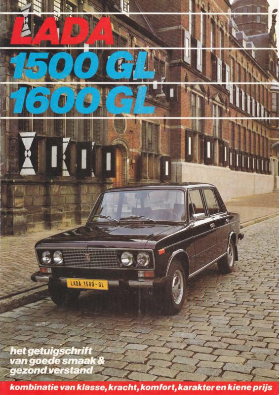 1500/1600 GL Sedan brochure, 6 pages, about 1978, Dutch language