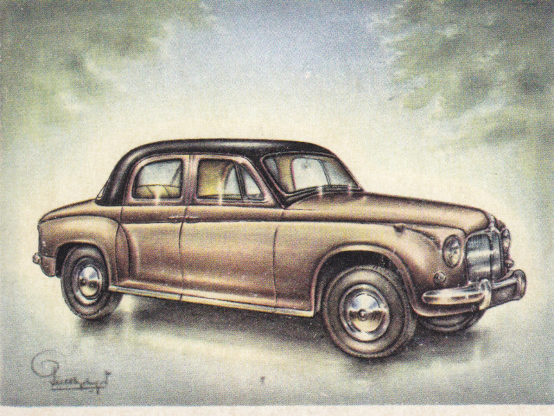 Rover 75 Sedan 1955, Full Speed, Dutch language, # 102