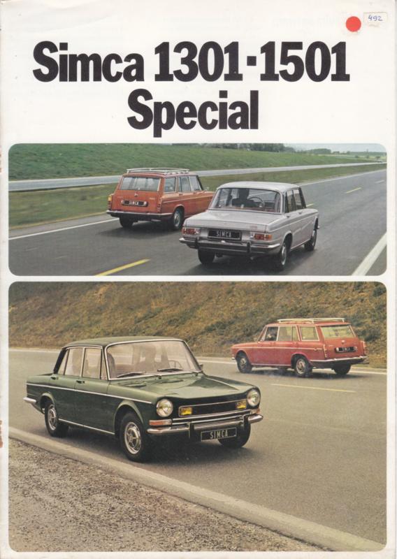 1301 & 1501 Special + Tourist, 8 pages, 9/1973, Dutch language