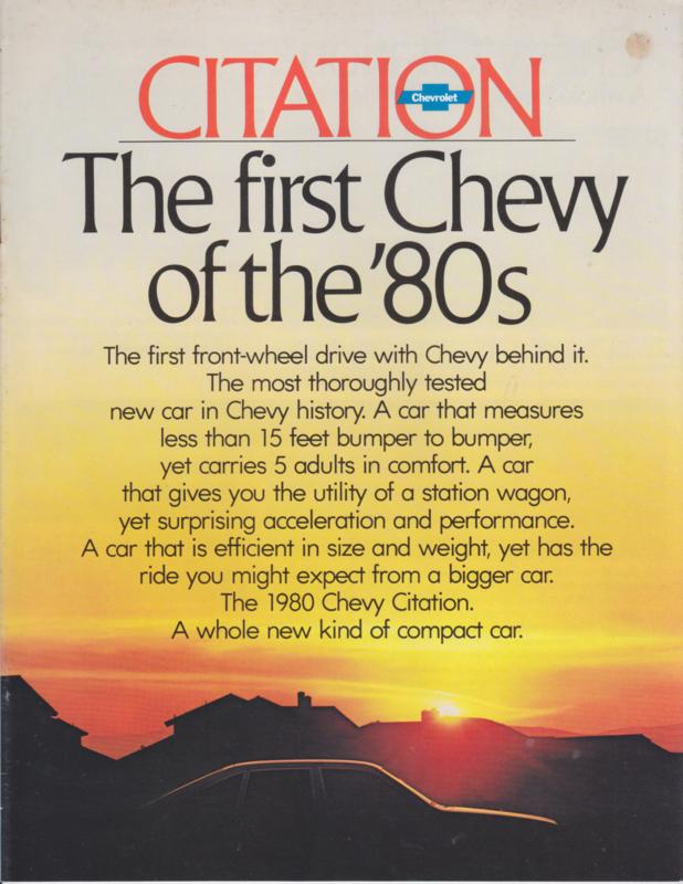 Citation, 24 pages, 08/1979, English language, USA