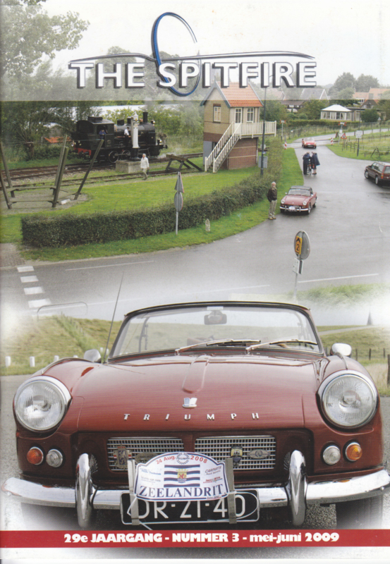 The Spitfire club magazine,  A5-size, 52 pages, Dutch language, issue 3 (2009)