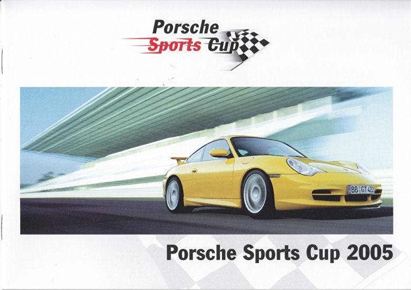 911 Sports Cup Germany, 12 pages, 03/2005, German language