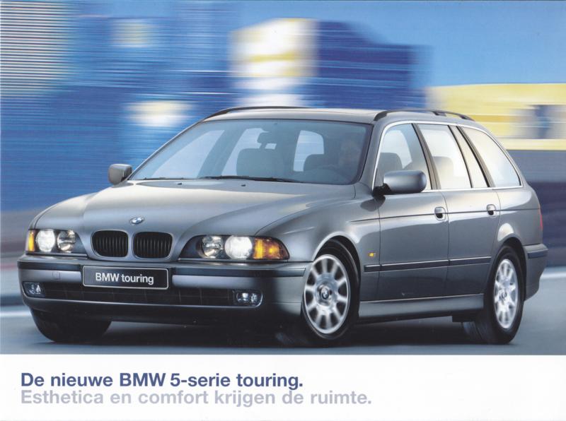 5-Series Touring brochure, 12 pages, A4-size, 01/1997, Dutch language