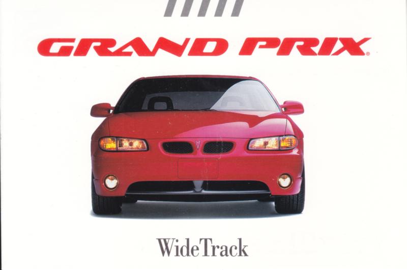 Grand Prix, US postcard, continental size, 1997