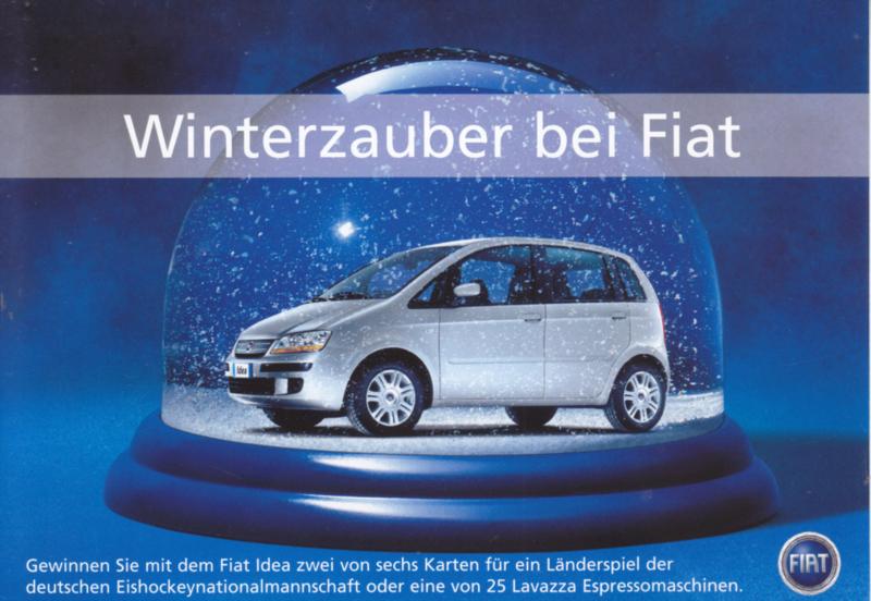 Idea, A6-size postcard, German language, 2004