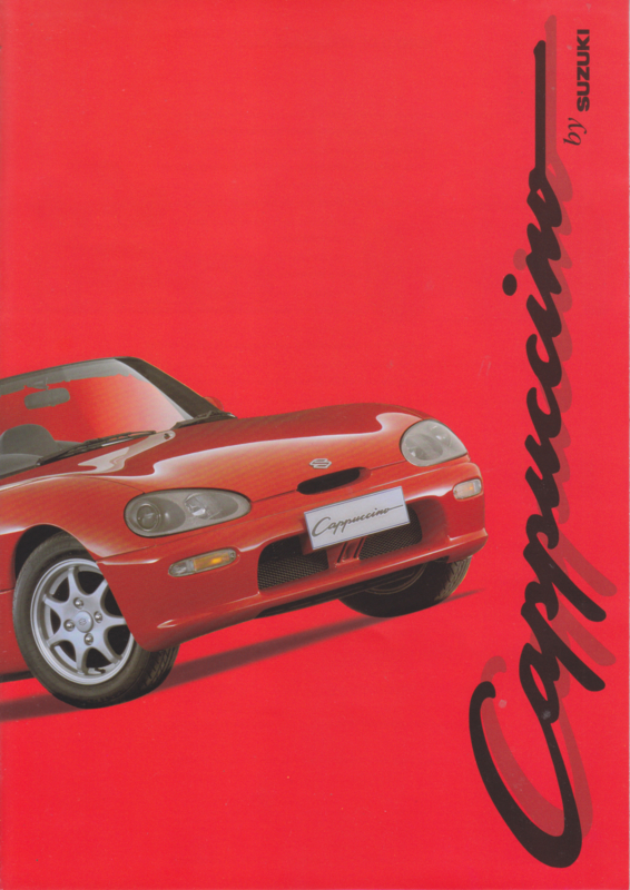 Cappucino brochure, 6 pages, 4/1994, Dutch language