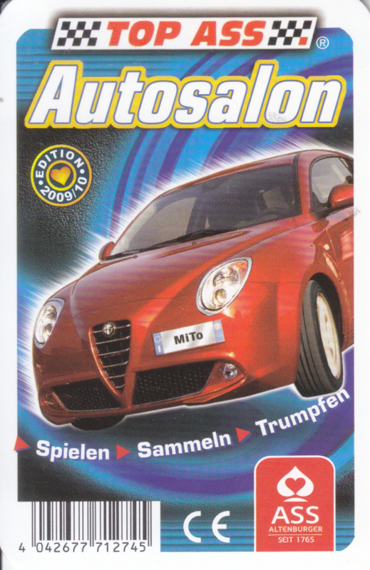 ASS Autosalon 2009/2010,  32 different cards in plastic cover, German issue
