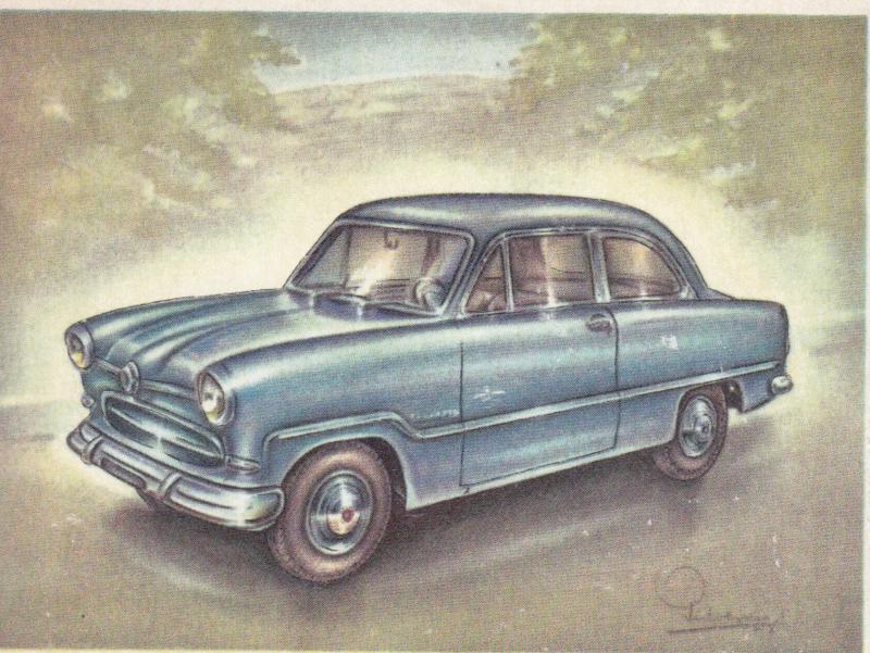 Ford Taunus 15M 1955, Full Speed, Dutch language, # 100