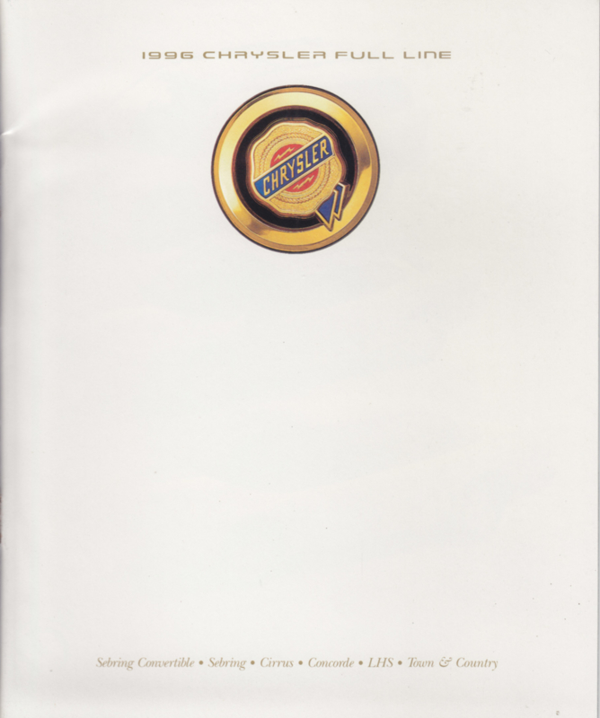 program 1996 brochure, 28 pages, USA,  English language