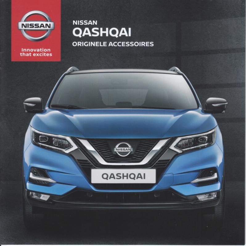 Qashqai accessories brochure, 24 pages, 07/2017, Dutch language