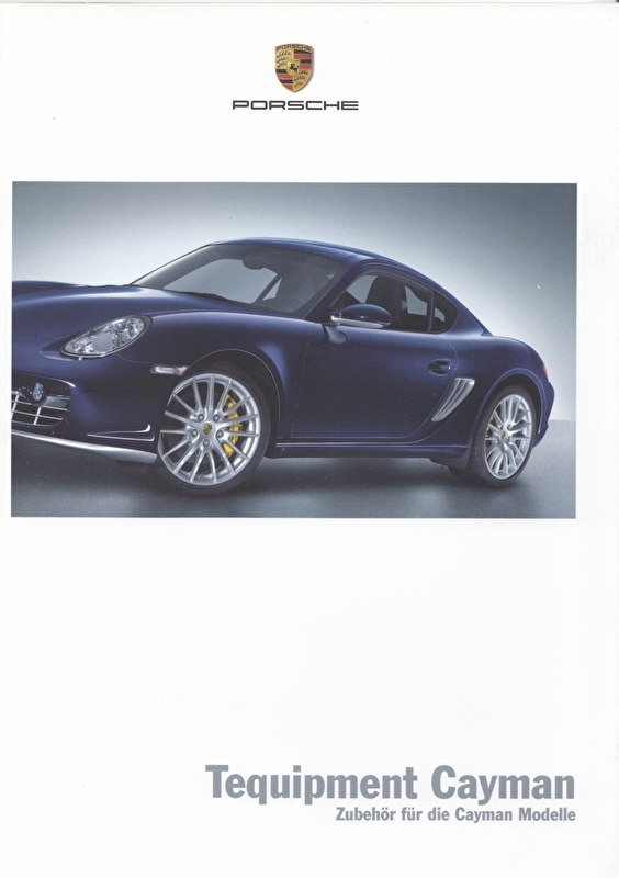 Cayman Tequipment, 40 pages, 06/2006, German