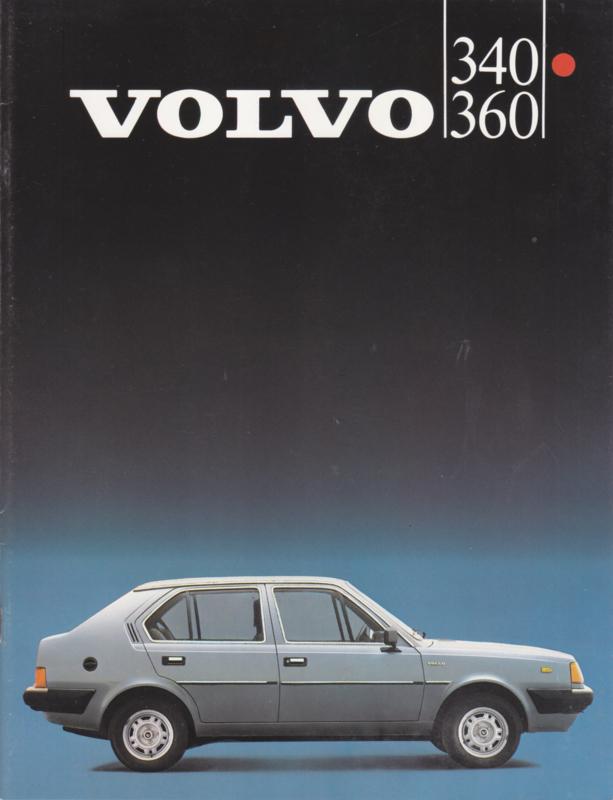 340 & 360 brochure, 32 pages, Dutch language, 1983
