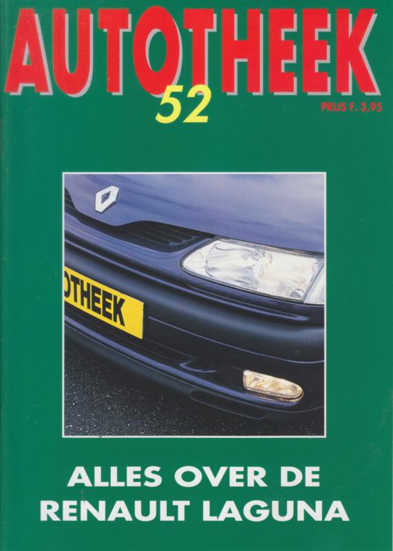issue # 52, Renault Laguna, 36 pages, Spring 1994, Dutch language