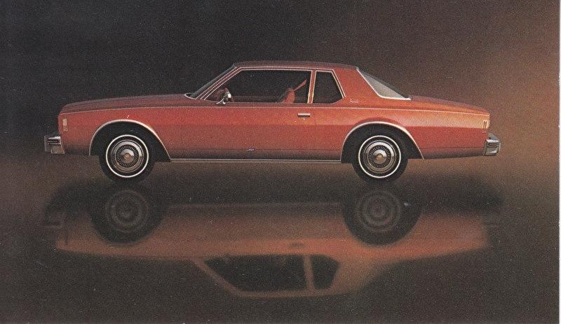 Impala Coupe,  US postcard, standard size, 1977