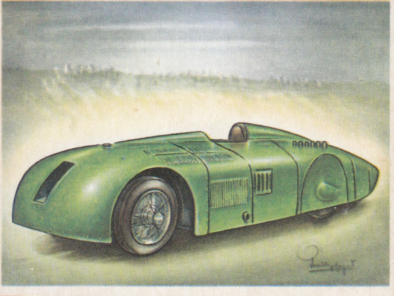 Sunbeam World Speed Record car 1927, Full Speed, Dutch language, # 151