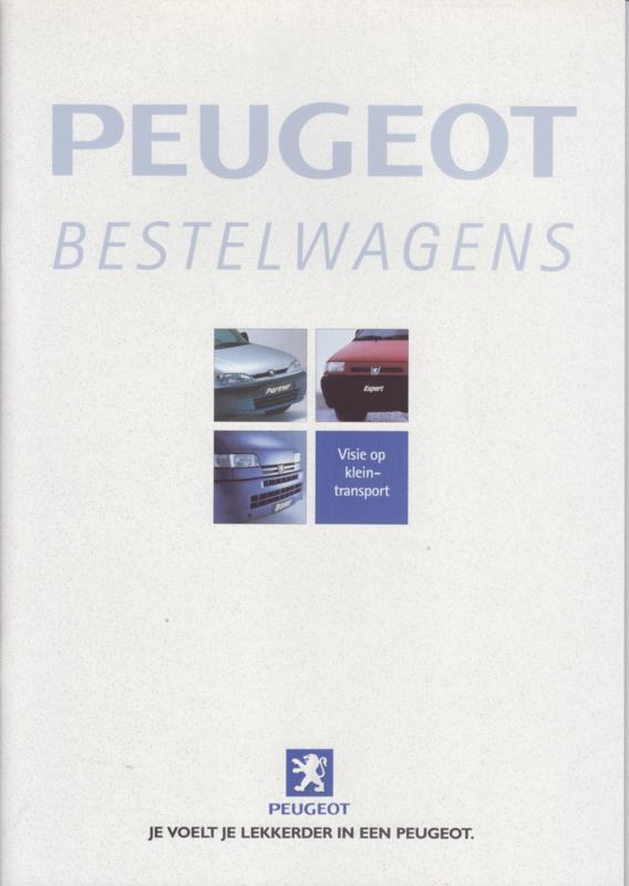 Commercials program brochure, 32 pages, A4-size, about 2000, Dutch language