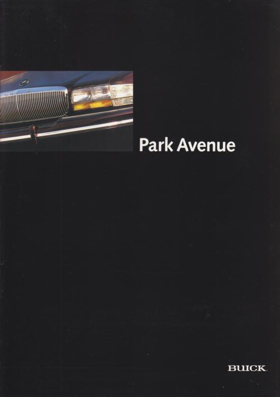 Park Avenue 1995, 16 page folder, Dutch language