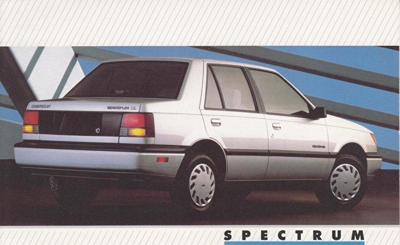 Spectrum,  US postcard, large size, 19 x 11,75 cm, 1988