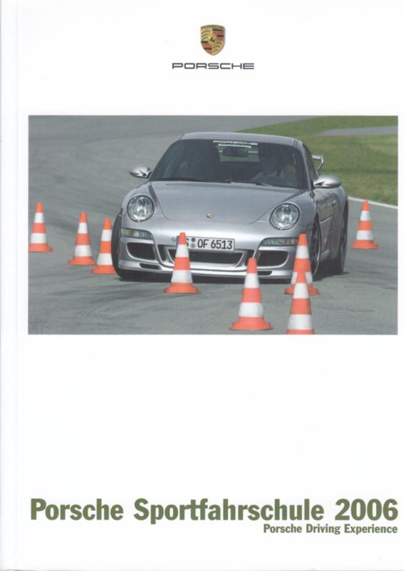 Sportfahrschule brochure, 84 pages, 2006, German language