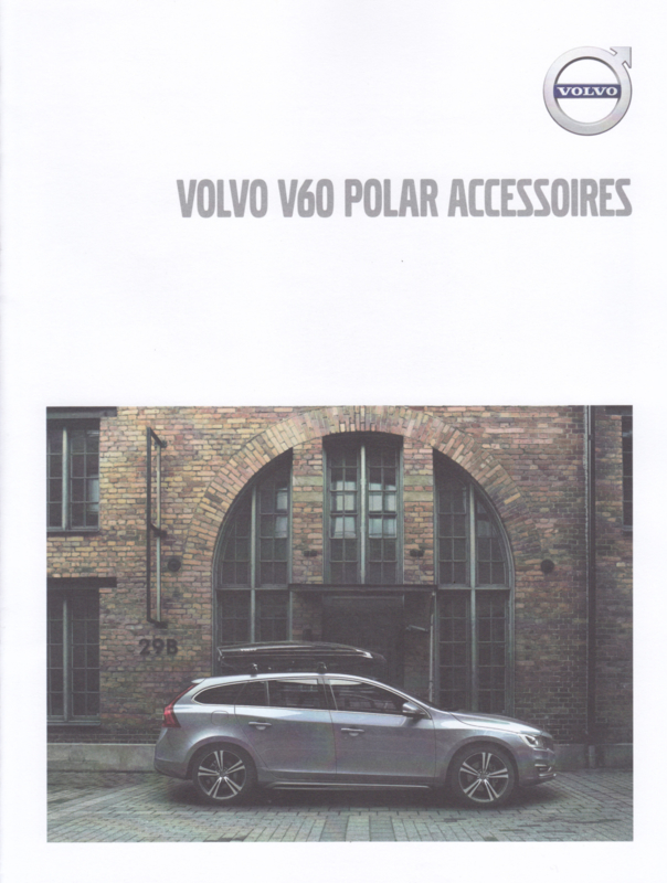 V60 Polar accessories brochure, 4 pages, MY18, 07/2017, Dutch language