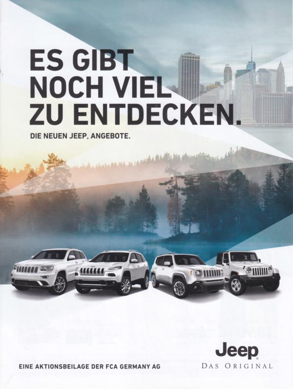 Program brochure, 8 pages, 2017, German language