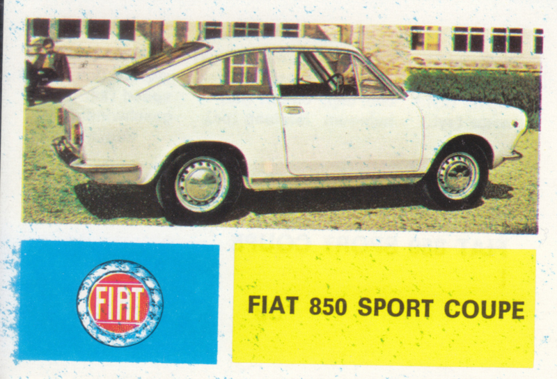 Fiat 850 Sport Coupe, 4 languages, # 59