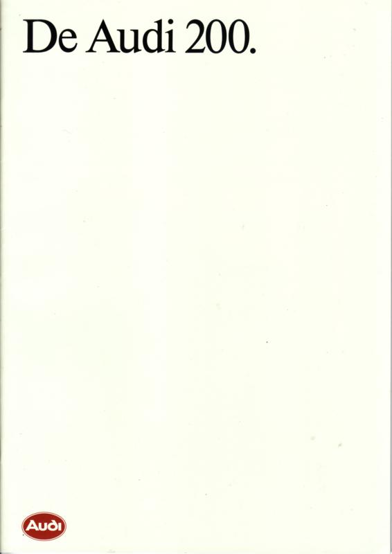 200 brochure, 40 pages, 06/1990, Dutch language