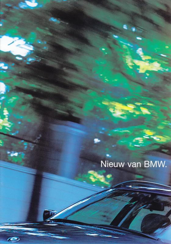 3-Series  Valvetronic folder, 4 pages, about 2003, Dutch language