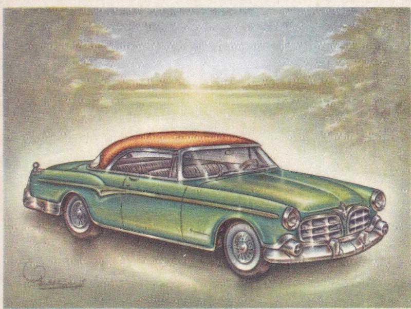 Chrysler Imperial Newport Hardtop 1955, Full Speed, Dutch language, # 92