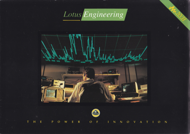 Engineering covering noise research, 6 pages, DIN A4-size, factory-issued, c1991, English