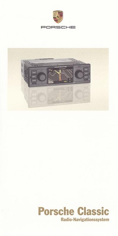 Radio Navigation System folder, 6 smaller pages, 12/2014, German