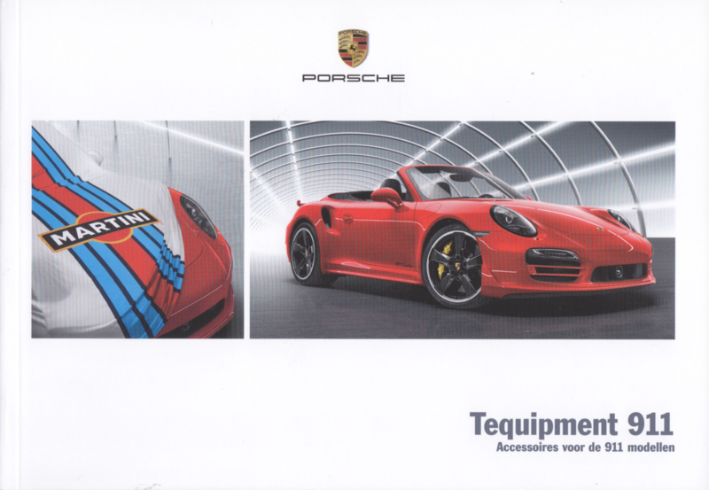 911 Carrera Tequipment brochure, 88 pages, 04/2016, Dutch