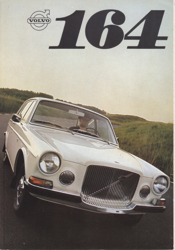 164 Sedan V6 brochure, 6 pages, Dutch language, 08/1968