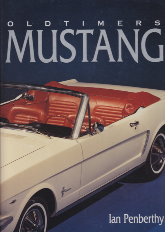 Oldtimers Ford Mustang,  72 pages, Dutch language, ISBN 90-72718-67-4 (1994)