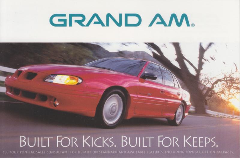 Grand Am, 1998, continental size, USA
