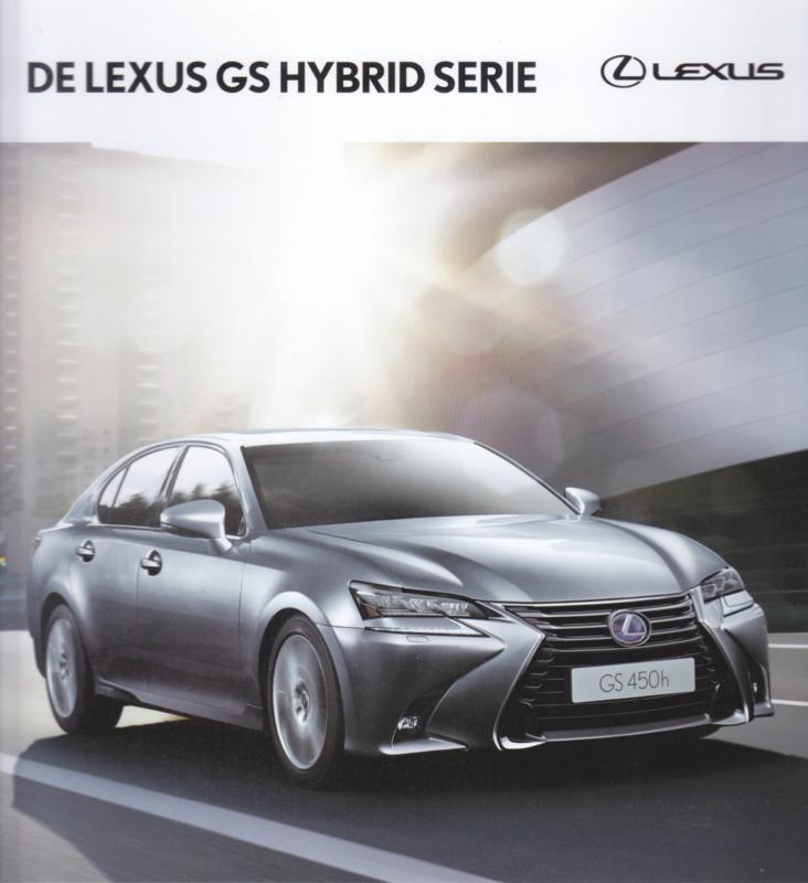 GS Hybrid brochure, 64 pages, 09/2016, Dutch language