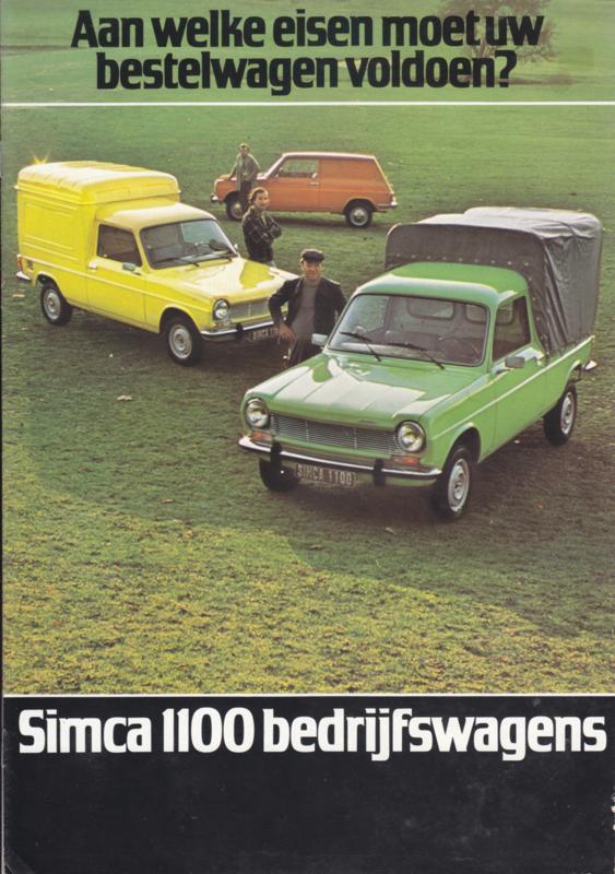 1100 Commercials, 8 pages, 4/1976, Dutch language