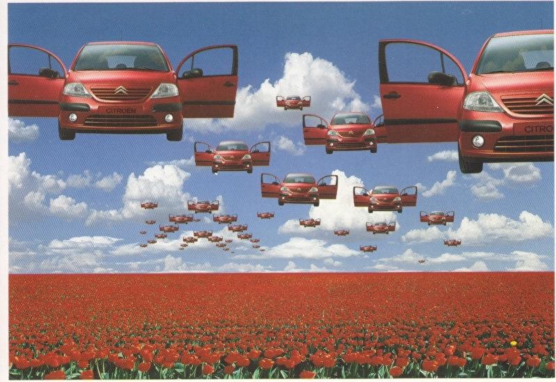 C3 Promocard, # 2837, Italian advertising postcard, # 3