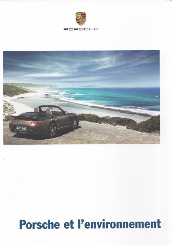 Porsche & Environment, 36 pages, 10/2007, French language