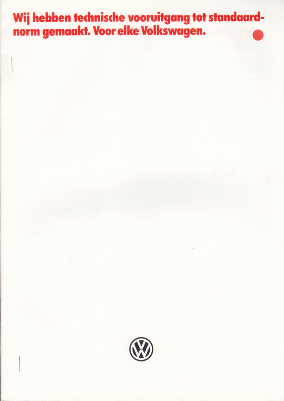 Program brochure, 16 pages,  A4-size, Dutch language, 01/1984