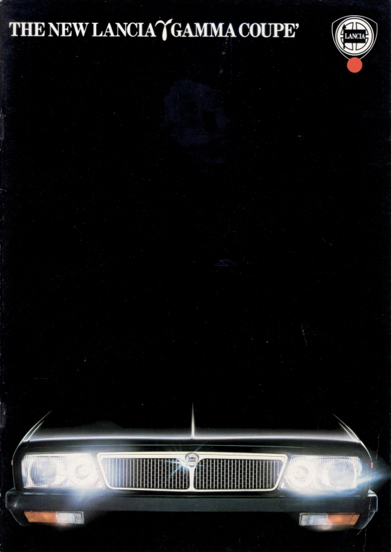 Gamma Coupe brochure, A4-size, 16 pages, about 1978, English language