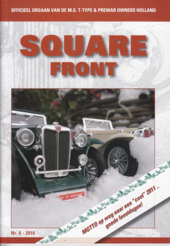 MG T-Type & Prewar club magazine,  A5-size, 52 pages, Dutch language, issue 6 (2010)