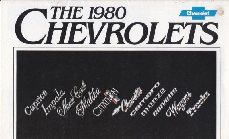 Program 1980, 24 pages, A5-size, English language, USA