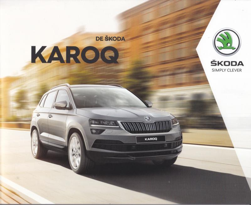 Karoq brochure, 84 pages, 2019/2020, Dutch language