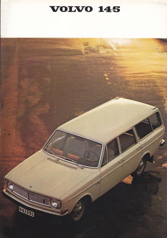 145 Stationwagon brochure, 6 pages, Dutch language, 08/1968