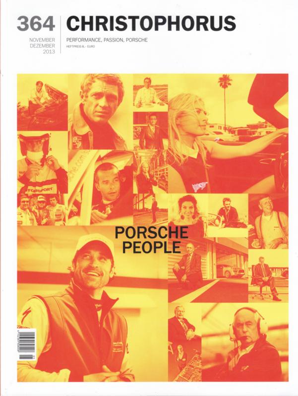 Porsche Christophorus # 364, 100 pages, issue 11/12 2013, German language