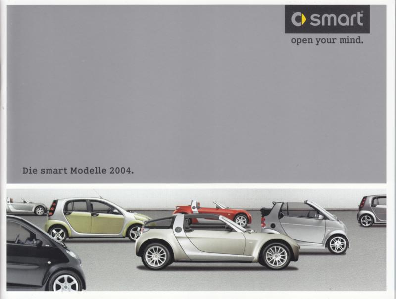 Program all model brochure, 36 pages, 12/2003, German language