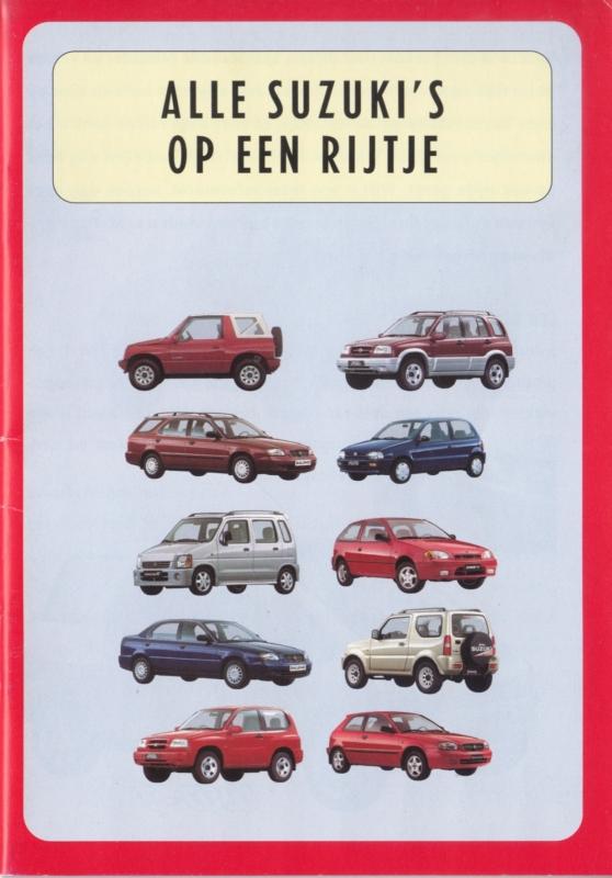 Program brochure, 28 small size pages, 02/1999, Dutch language